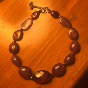 Jewelry - Deep purple beaded necklace